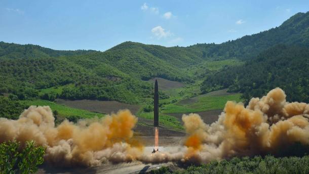 Nordkorea testet neue Langstreckenrakete