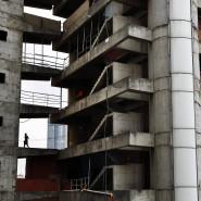 Der Torre de David in Venezuelas Hauptstadt Caracas.