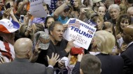 Wahlkampf in Pennsylvania: Wo bisher die Demokraten stark waren, könnte Donald Trump Chancen haben.