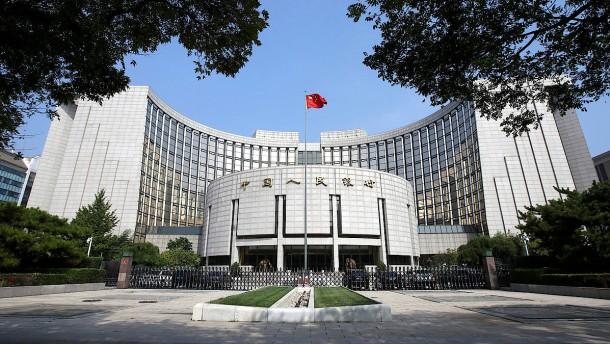 China pumpt 73 Milliarden Euro ins Finanzsystem