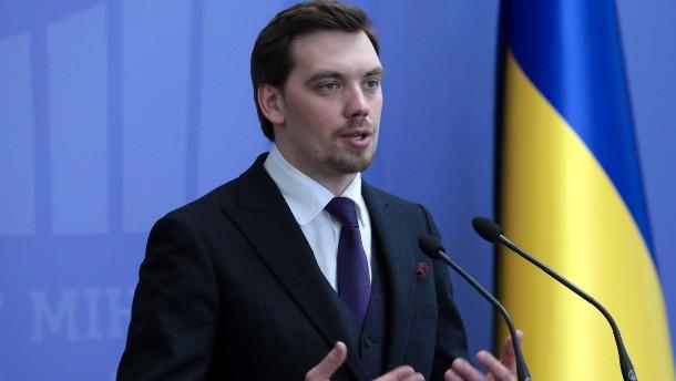Ukrainischer Ministerpräsident reicht Rücktritt ein