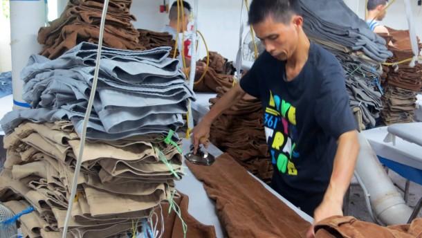 Deutsche Jacken aus China für China
