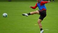 """""""Ich glaube an mich und meine Qualität"""": Luka Jovic will sich im Frankfurter Trikot beweisen."""