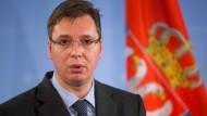 Serbiens neuer starker Mann: Aleksandar Vučić