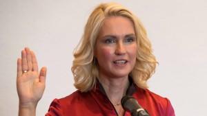 Manuela Schwesig ist neue Regierungschefin in Mecklenburg-Vorpommern