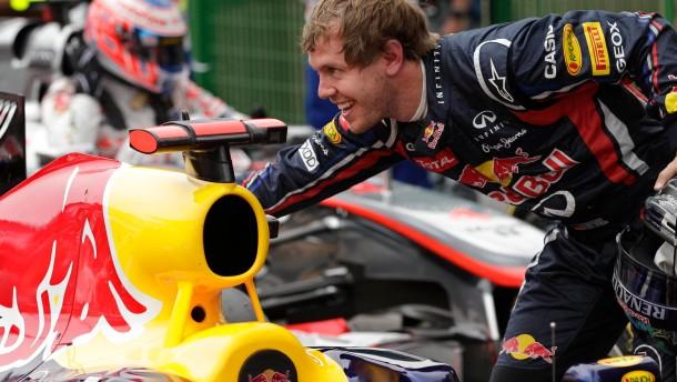 Vettels Machtdemonstration