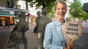 """""""Omas gegen rechts"""" kontern mit Respekt"""
