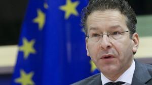 Bleibt Dijsselbloem Chef der Eurogruppe?