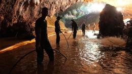 Sie hätten nie in die Höhle gedurft