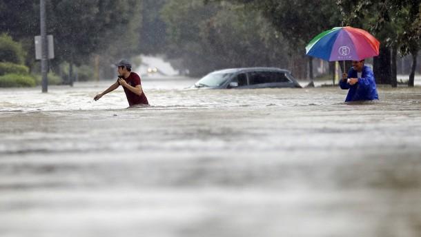 Warum wurde Houston nicht evakuiert?
