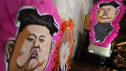 """Kim hat """"auf Händen und Knien"""" um Treffen gebettelt"""