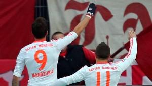 DFB-Ermahnung wegen Mandzukic-Jubel
