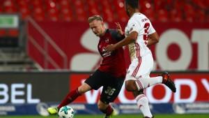 Nürnberg büßt dritten Tabellenplatz ein