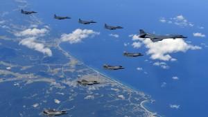 Südkorea und Amerika sagen gemeinsame Militärübung ab