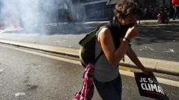 Ausschreitungen und Festnahmen in Paris