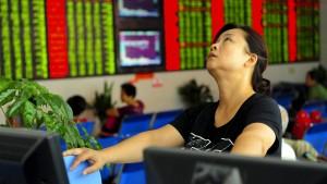 Chinas Börsen gewinnen an Boden
