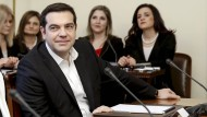 Steht derzeit doppelt unter Druck: Griechenlands Ministerpräsident Alexis Tsipras