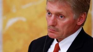 """Russland nennt neue Sanktionen """"inakzeptabel"""""""