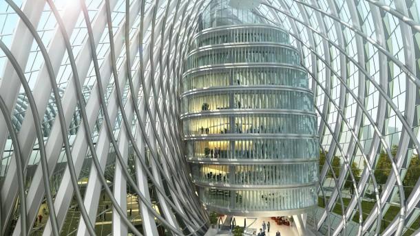 Chinesische architektur in mannheim schuppen die am - Architektur mannheim ...