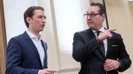 FPÖ und ÖVP einigen sich auf gemeinsame Koalition