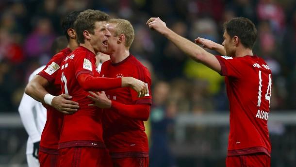 Bremen ist für Bayern kein Gegner