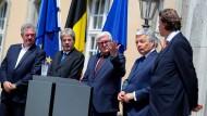 Steinmeier berät mit EU-Amtskollegen