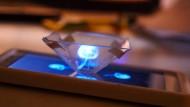 Smartphone wird zum Hologramm