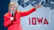 Hillary Clinton beinahe so unbeliebt wie Donald Trump