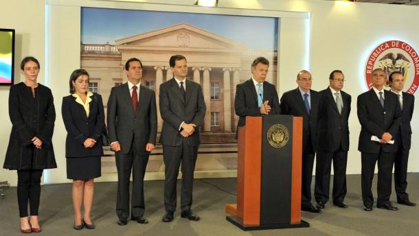 Santos lehnt Waffenruhe mit Farc-Rebellen ab