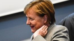 Merkel stell sich Fragerunde