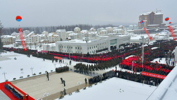 "Kim Jong-un eröffnet ""bestes Menschenparadies der Welt"""