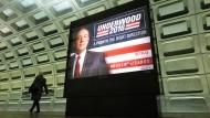 """Werbung für die amerikanische Netflix-Serie """"House of Cards"""". In Deutschland läuft die bei Sky, würde also auch dort quotenrelevant."""