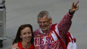 Wieder gesperrter Russe beim Training entdeckt