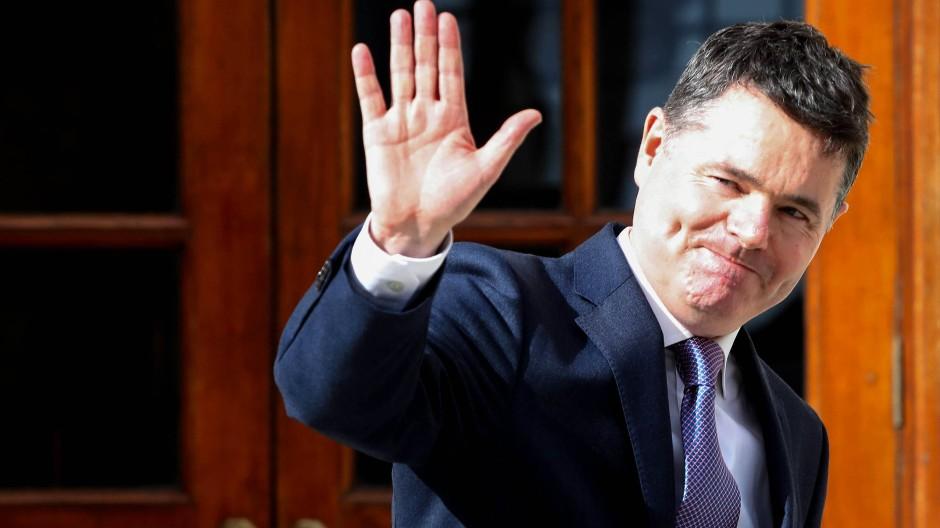 Eine faustdicke Überraschung: Der irische Finanzminister Paschal Donohoe ist neuer Chef der Eurogruppe.