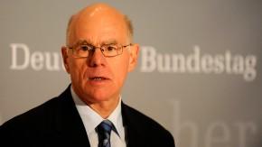 Lammert: Keine EZB-Anleihekaeufe ohne Bundestag