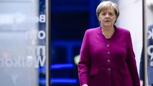 Merkel: Verlust des Finanzministeriums akzeptabel