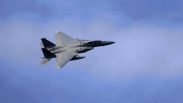Vereinigte Staaten schießen weitere Drohne über Syrien ab