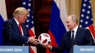 Nützlich für Wladimir Putin: Donald Trump