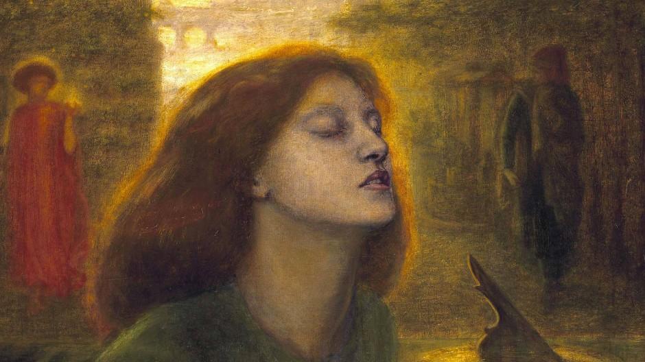 Im Bild von Dantes Beatrice spiegelte Dante Gabriel Rossetti seine tote Ehefrau Elizabeth Siddal.