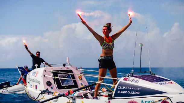 21 Jahre alte Britin überquert allein den Atlantik