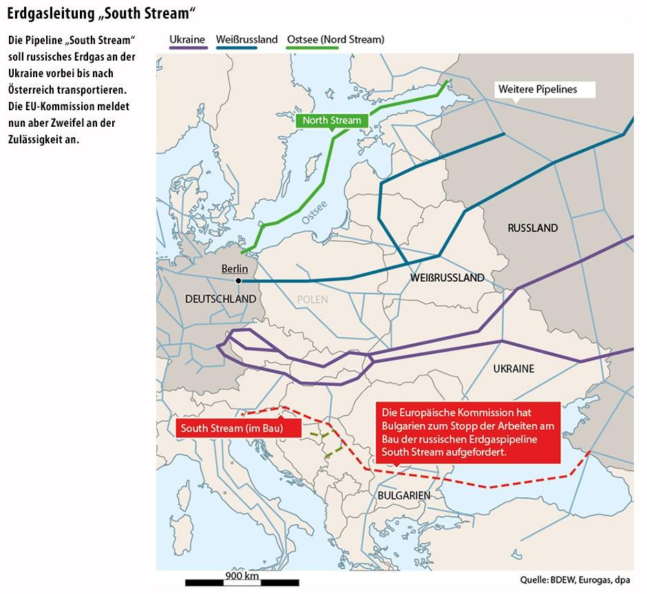 Bilderstrecke Zu Erdgasleitung South Stream Bulgarien Will
