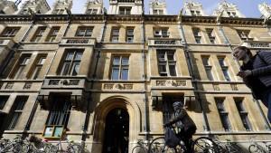 Die universitäre Welt der britischen Elite