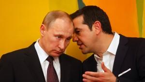 Athen und Moskau wollen Kooperation weiter ausbauen