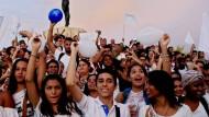 Tausende demonstrieren für Frieden mit FARC-Rebellen