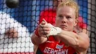 Ihre letzte EM: Betty Heidler im Olympiastadion von Amsterdam im Juli dieses Jahres