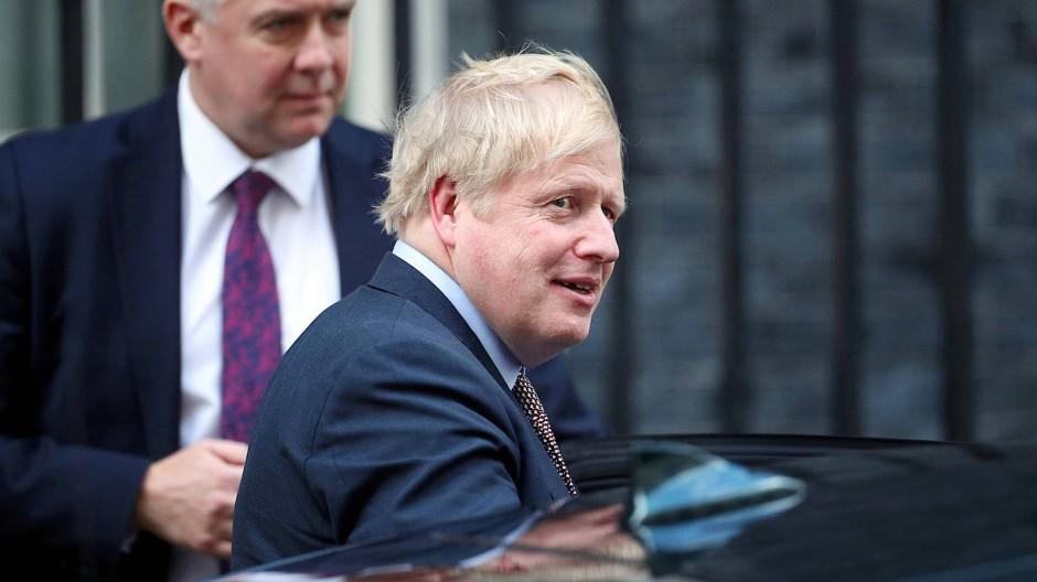 Mögliche Handelsgespräche zwischen Premier Johnson und den Vereinigten Staaten werden in Europa kritisch beäugt.