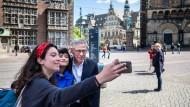 Legt sich auf Machtoptionen fest: SPD-Bürgermeister Carsten Sieling