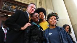 Tochter des New Yorker Bürgermeisters bei Protest festgenommen