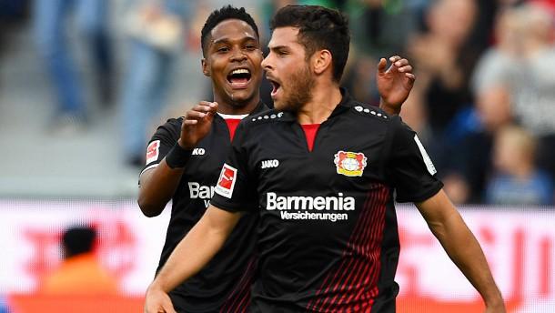 Erster Saisonsieg für Leverkusen
