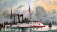 Geht gar nicht? Die Kölner Iltis-Straße erinnert nicht an das Tier, sondern an das Kanonenboot SMS Iltis. Das kämpfte in Ostasien für das Deutsche Kaiserreich.